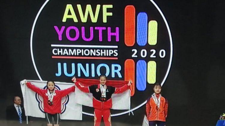 Kejuaraan angkat besi dunia junior di Rumania dikabarkan batal karena virus corona. Copyright: © ANTARA/HO/PB PABBSI