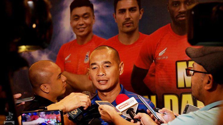 Pelatih asal Indonesia milik Sabah FA (Liga Super Malaysia), Kurniawan Dwi Yulianto. Copyright: © fasabah/Facebook