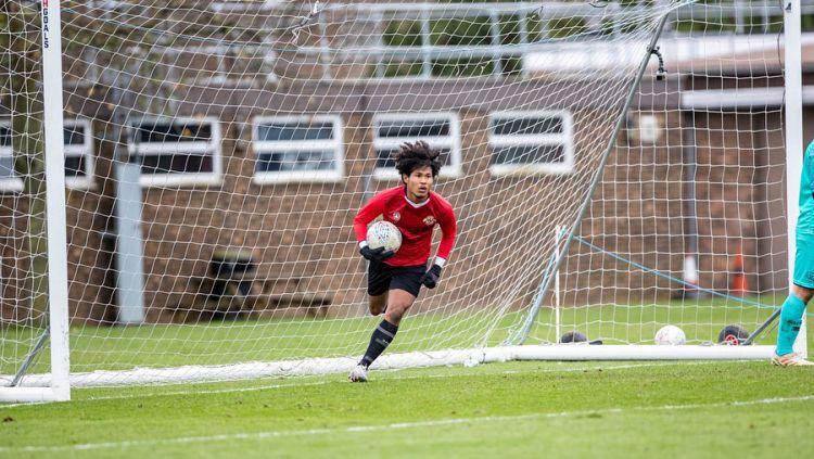 Jadi bertualang ke Eropa, Bagus Kahfi akan mendapat kontrak 18 bulan untuk bermain di tim muda klub Belanda, Jong Utrecht. Copyright: © instagram.com/baguskahfiii