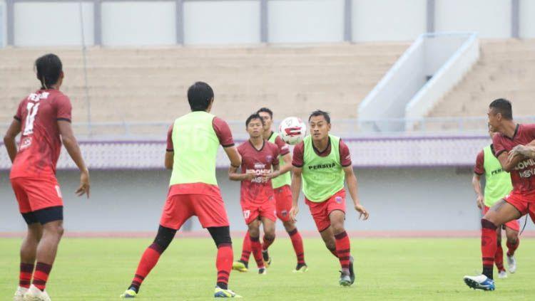Persiapan Klub Liga 1 2020, Persita Tangerang jelang lawan PSM Makassar. Copyright: © Media Persita