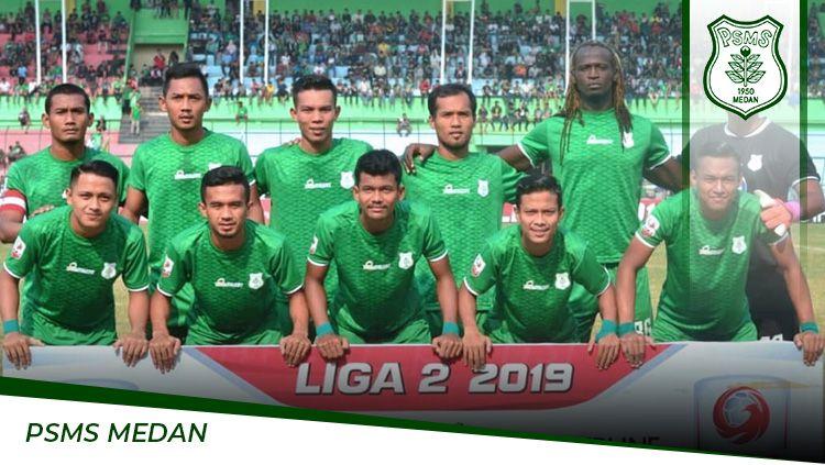PSMS Medan memberi tanggapan terkait kompetisi Liga 2 yang terancam dihentikan total karena adanya pandemi virus corona. Copyright: © Grafis:Frmn/Indosport.com