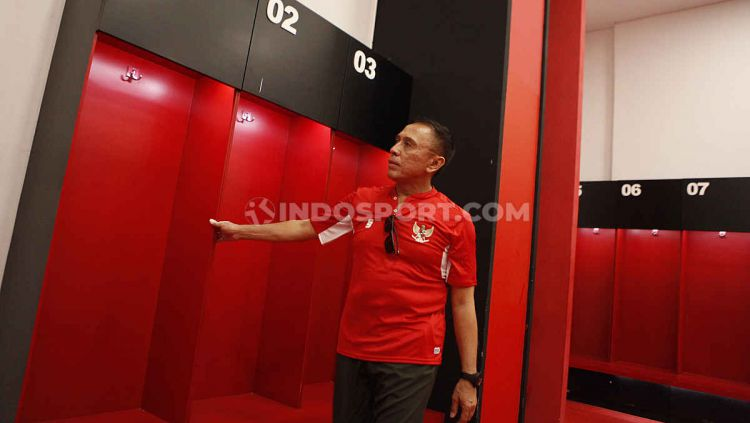 Ketua umum PSSI, Mochammad Iriawan melanjutkan inspeksi calon stadion Piala Dunia U-20 2021. Kali ini giliran Stadion Gelora Bung Karno, Senayan Jakarta. Copyright: © Herry Ibrahim/INDOSPORT