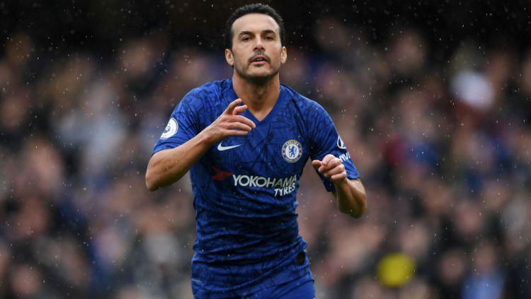 Bintang Chelsea, Pedro dikabarkan telah mengkonfirmasi jika dirinya akan meninggalkan The Blues di akhir musim 2019/20 ini. Copyright: © Shaun Botterill/Getty Images