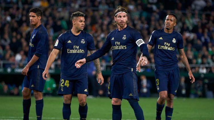Hadapi imbas krisis finansial karena virus Corona, klub LaLiga Spanyol, Real Madrid, bisa lakukan langkah nekat ini. Copyright: © Manuel Queimadelos/Quality Sport Images/Getty Images