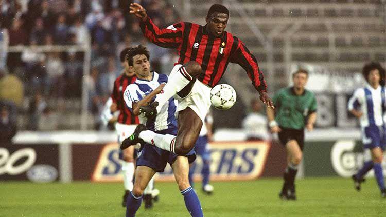 Apa kabar Marcel Desailly? Legenda AC Milan dan Timnas Prancis yang meraih beragam gelar juara seperti Liga Champions sampai Piala Dunia. Copyright: © Steve Morton/EMPICS via Getty Images