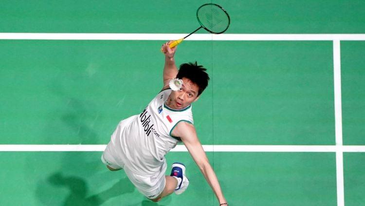 Media China buat video mengenang perjalanan karier dari Kevin Sanjaya dari bukan siapa-siapa hingga menjadi pebulutangkis papan atas dunia. Copyright: © Morgan Harlow/PA Images via Getty Images