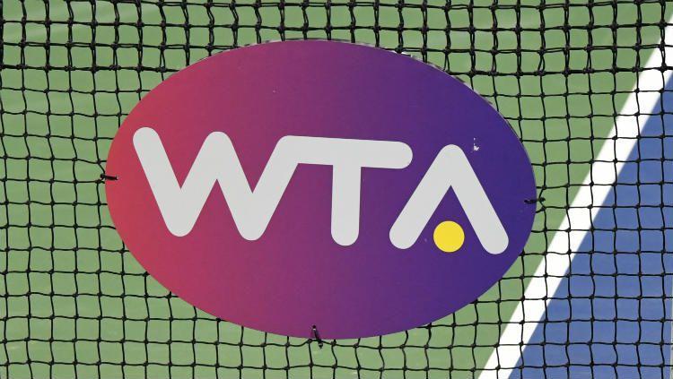 Logo WTA. Copyright: © Mitchell Layton/Getty Images