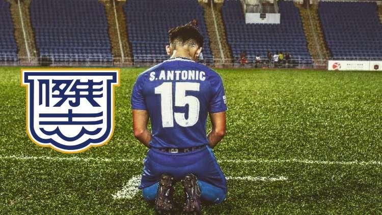 Berikut ini diprediksi 4 atribut menonjol dimiliki oleh putra Dejan Antonic bernama Stefan Antonic yang berkarier di Hong Kong. Copyright: © instagram.com/stefanantona