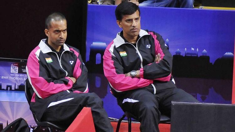 Tokoh bulutangkis India sekaligus eks Kepala Pelatih BAI, Vimal Kumar meminta pertanggungjawaban para pelatih asing yang dinilainya tidak bertanggung jawab. Copyright: © Vipin Kumar/Hindustan Times via Getty Images