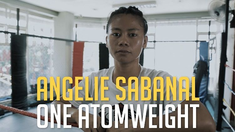 Petarung MMA asal Filipina, Angelie Sabanal. Copyright: © Youtube