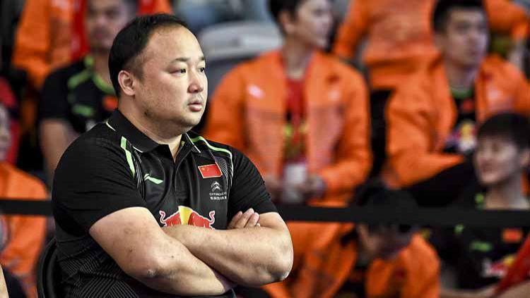 Ketua Umum Asosiasi Bulutangkis China (CBA), Zhang Jun, menyebut rival Kevin Sanjaya/Marcus Gideon yakni Li Junhui/Liu Yuchen telah mengalami peningkatan. Copyright: © news.cgtn/VCG Photo
