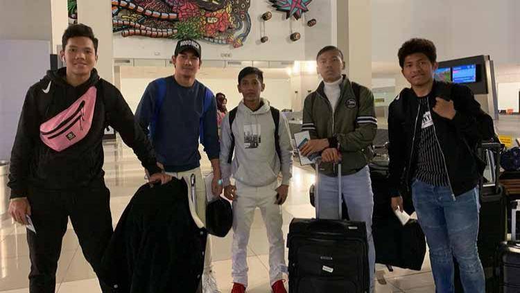 Meski kembali ke Indonesia dari luar negeri, para penggawa Garuda Select ternyata tidak melakukan karantina. Copyright: © Instagram@programgarudaselect