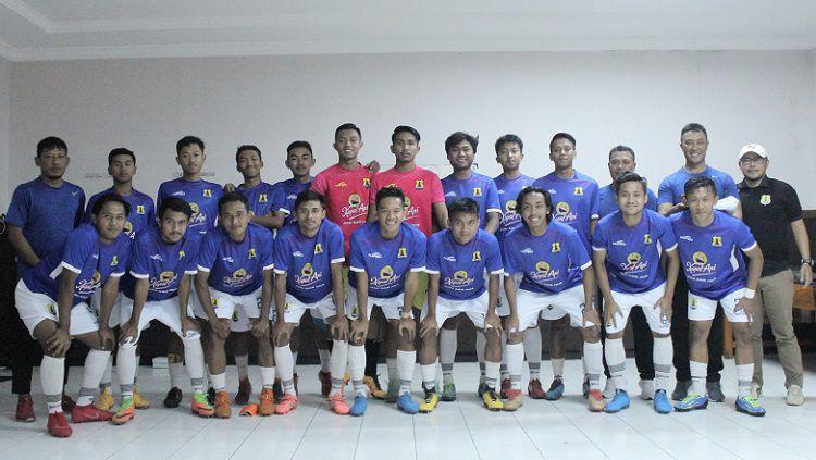 Skuat Persema Malang untuk Liga 3 2020. Copyright: © Media Persema Malang