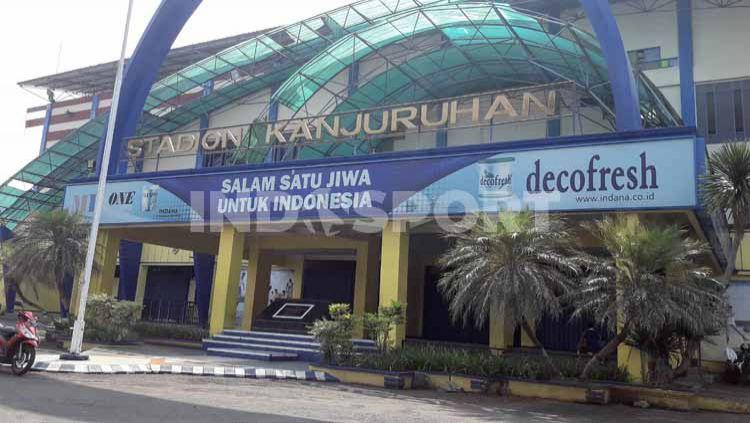Salah satu Stadion di kota Malang, Stadion Kanjuruhan. Copyright: © Ian Setiawan/INDOSPORT