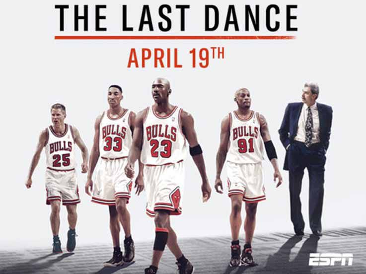 The Last Dance, Film Dokumenter Michael Jordan Rilis 19 April