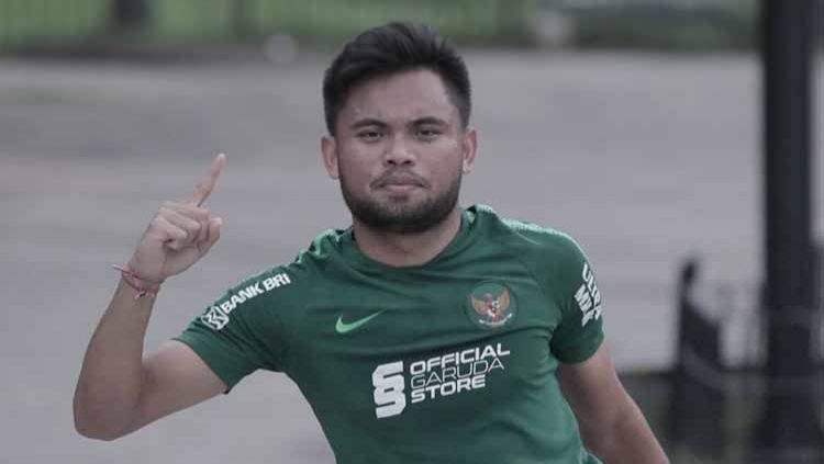 Pemain andalan Timnas Indonesia, Saddil Ramdani, ditetapkan sebagai tersangka karena menganiaya gerombolan pemabuk yang menghina ibunya. Copyright: © Instagram@saddilramdanii