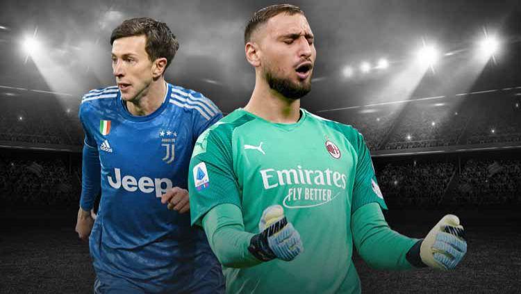 Menimbang barter Juventus dan AC Milan untuk Bernardeschi-Donnarumma, siapa diuntungkan? Copyright: © Grafis: Yanto/INDOSPORT