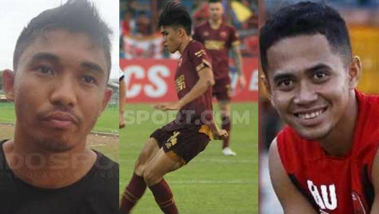 Ki-ka: Muhammad Arfan, M Rizky Eka Pratama, dan Reva Adi Utama. Ketiganya merupakan pemain orbitan PSM yang namanya melejit. Copyright: © Indosport/Instagram
