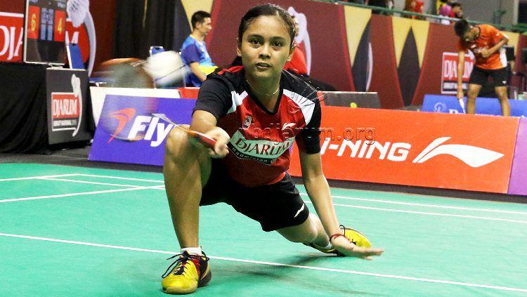 Bernadine Anindya Wardana, pebulutangkis muda dari klub PB Djarum. Copyright: © PB Djarum