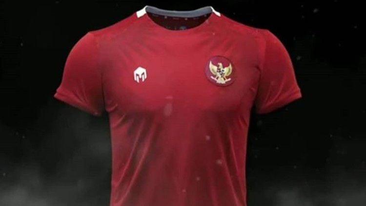 Jersey anyar Timnas Indonesia. Copyright: © Instagram/Mills Sports