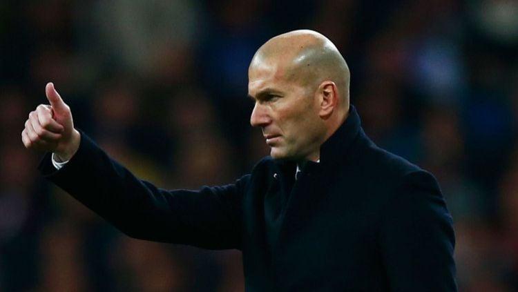 Real Madrid patut lega jalani pertandingan LaLiga Spanyol bertajuk El Clasico lawan Barcelona. Hal ini berkat berkah pelatih Zinedine Zidane. Copyright: © Gonzalo Arroyo Moreno/Getty Images