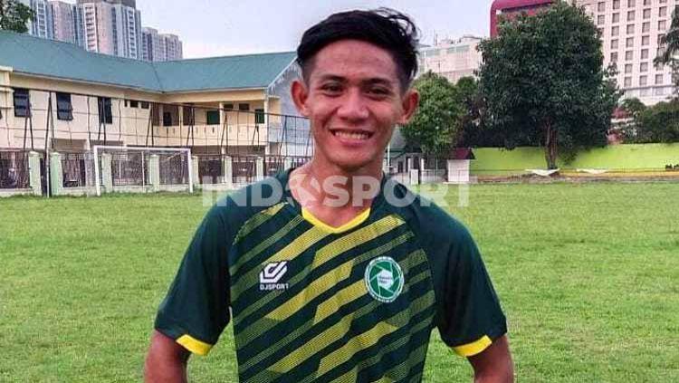 Pemain PSM Makassar dan mantan pemain PSMS Medan, Firza Andika. Copyright: © Aldi Aulia Anwar/INDOSPORT