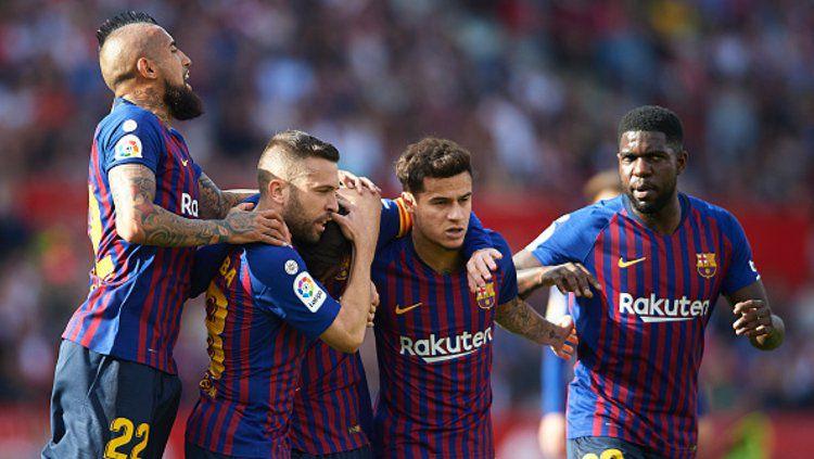 Barcelona ajukan dua syarat menggiurkan kala buang Philippe Coutinho ke Tottenham Hotspur. Copyright: © Quality Sport Images/GettyImages