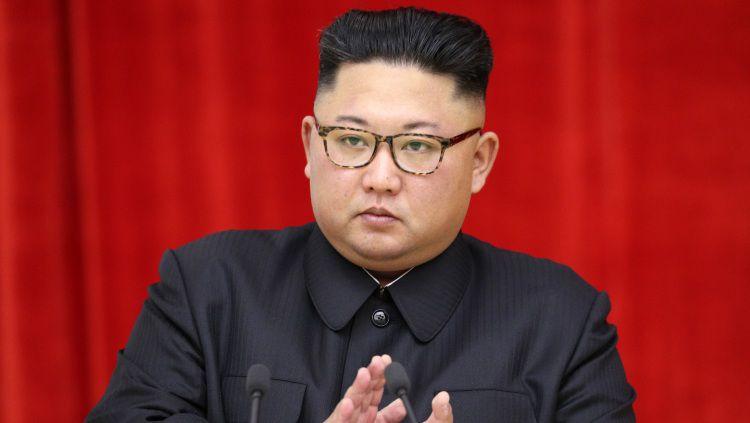 Sempat Didoakan Dennis Rodman, Kim Jong-un Meninggal Dunia? Copyright: © Pool/GettyImages