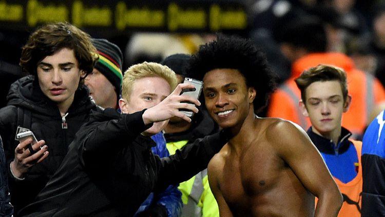 Ternyata banyak pemain Liga Inggris ingin berkarir di klub Indonesia. Copyright: © Darren Walsh/Chelsea FC via Getty Images