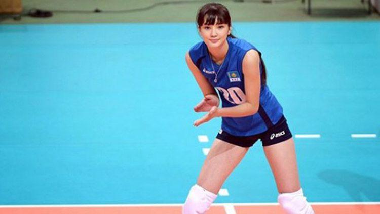 Atlet voli asal Kazakhstan, Sabina Altynbekova Copyright: © Instagram/altynbekova_20
