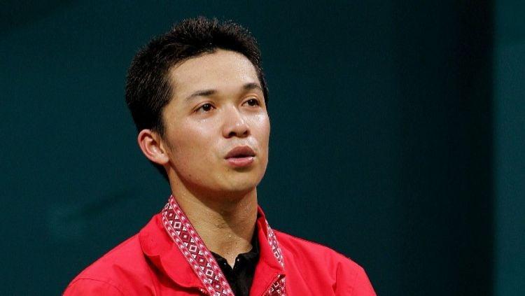 Legenda tunggal putra Indonesia, Taufik Hidayat sukses menjadi pemegang rekor kemenangan tertinggi di sektor tunggal putra. Copyright: © Andrew Wong/Getty Images
