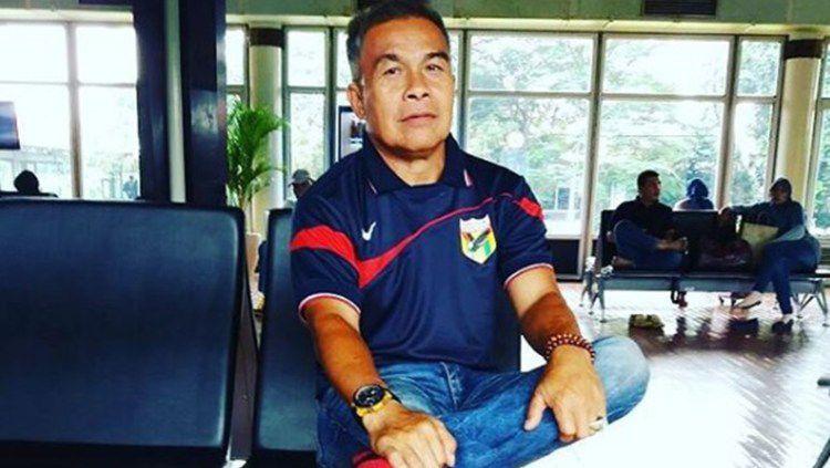 Inyong Lolombulan, mantan pemain Mataram Indocement. Copyright: © Dok Pribadi