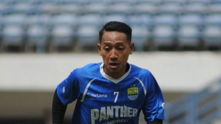 Wonderkid klub Liga 1 Persib Bandung Beckham Putra Nugraha. Copyright: © Amandeep Rohimah/persib.co.id