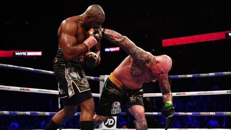 ertarungan ulang antara Dillian Whyte vs Alexander Povetkin akhirnya resmi di gelar, dengan superfight tinju tersebut akan dilaksanakan pada akhir tahun 2020. Copyright: © forbes
