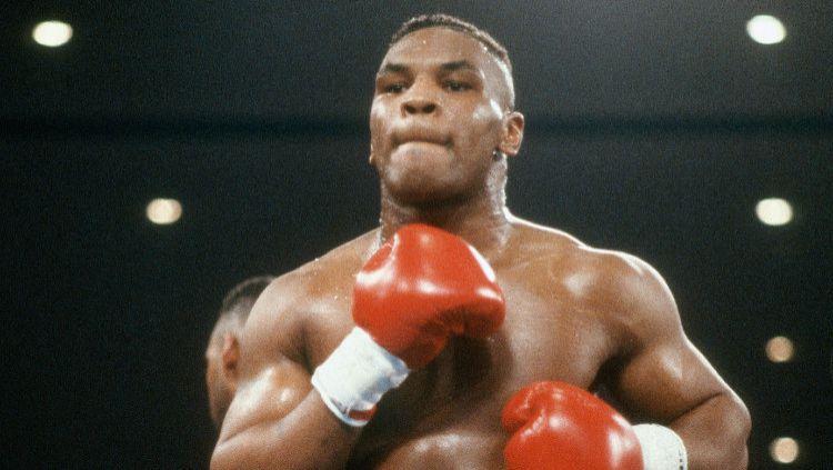 Legenda tinju Amerika Serikat, Mike Tyson. Copyright: © Focus on Sport/Getty Images