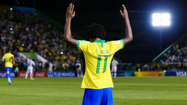 Liverpool bisa selangkah lagi gaet 'Neymar' pada bursa transfer lanjutan. Copyright: © Buda Mendes - FIFA/FIFA via Getty Images