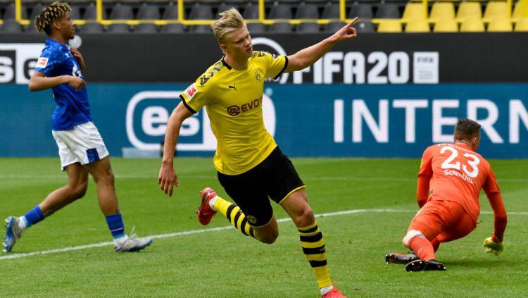 Bos Dortmund Ogah Bongkar Nasib Erling Haaland Copyright: © Martin Meissner/Pool via Getty Images