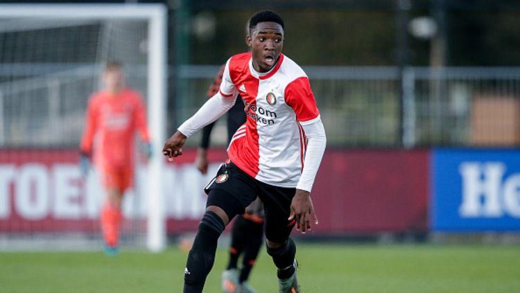 Lamare Bogarde, bintang muda asal Belanda milik Feyenoord. Copyright: © Soccrates Images/GettyImages.