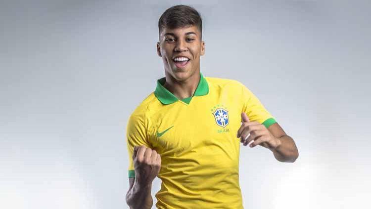 Kaio Jorge, pemain Timnas Brasil. Copyright: © Instagram@#kaiojorge