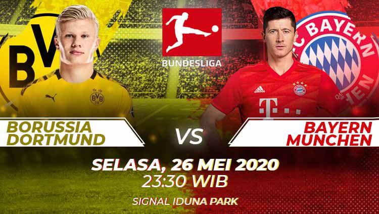 Prediksi Pertandingan Borussia Dortmund Vs Bayern Munchen Indosport