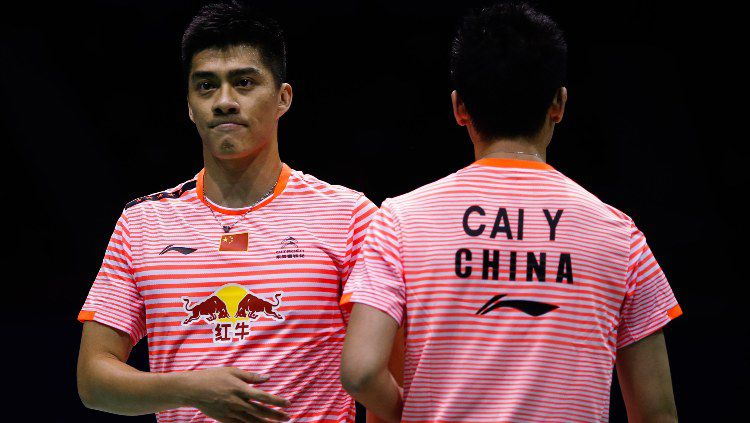 Nama pasangan Cai Yun/Fu Haifeng tidak ada dalam daftar raja ganda putra oleh BWF, media China malah sindir pasangan Ineonsia, Kevin Sanjaya/Marcus Gideon, Copyright: © Visual China Group via Getty Images/Visual China Group via Getty Images