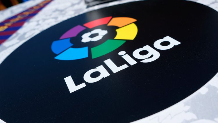 Logo LaLiga Spanyol. Copyright: © Brian Ach/Getty Images