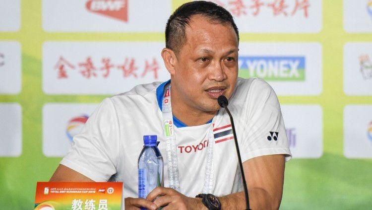 Pelatih bulutangkis, Rexy Mainaky. Copyright: © Peng Huan/Visual China Group via Getty Images