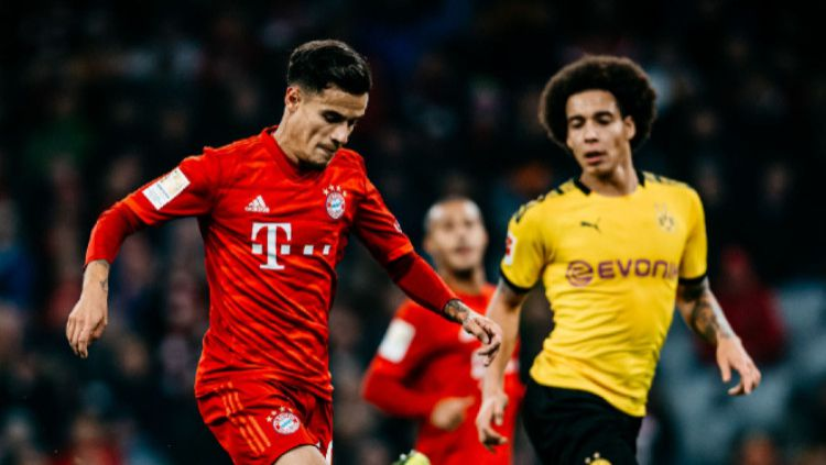 Jadwal Bundesliga Jerman, Selasa (26/5/20) malam dan Rabu (27/5/20) dini hari. Salah satunya akan menyuguhkan big match, Borussia Dortmund vs Bayern Munchen Copyright: © Alexander Scheuber/Bundesliga Collection via Getty Images