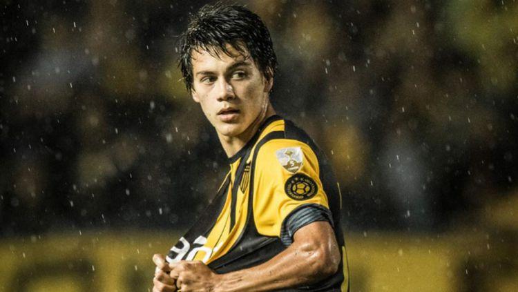 Selain Edinson Cavani, Manchester United akan kedatangan striker Uruguay lainnya pada sosok Facundo Pellistri. Copyright: © instagram.com/facu_pellistri