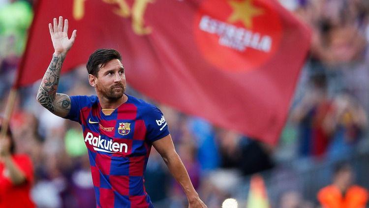 Raksasa LaLiga Spanyol, Barcelona, kabarnya sedang membidik striker tajam Lazio dari Serie A Liga Italia ini untuk menggantikan Lionel Messi. Copyright: © Eric Alonso/GettyImages