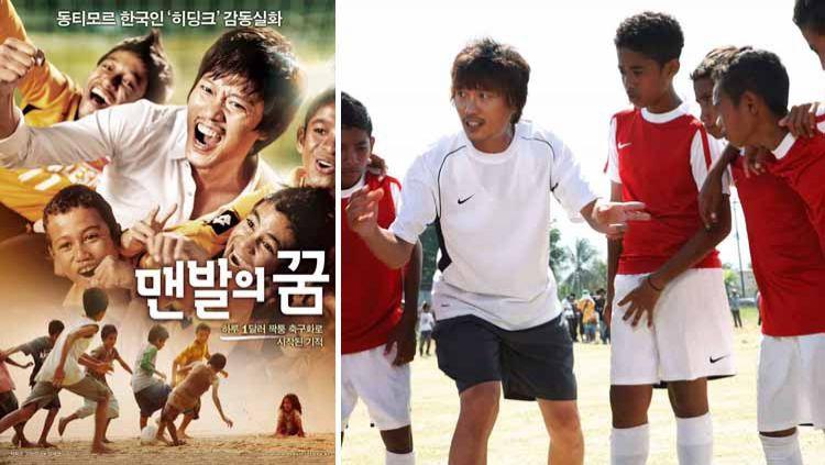 A Barefoot Dream merupakan film mengagumkan garapan Korea yang mengisahkan tentang sepak bola di Timor Leste. Copyright: © Instagram@#abarefootdream