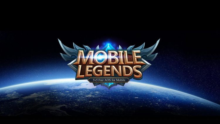 Logo game eSports Mobile Legends. Copyright: © Moontoon via Wallpapercave