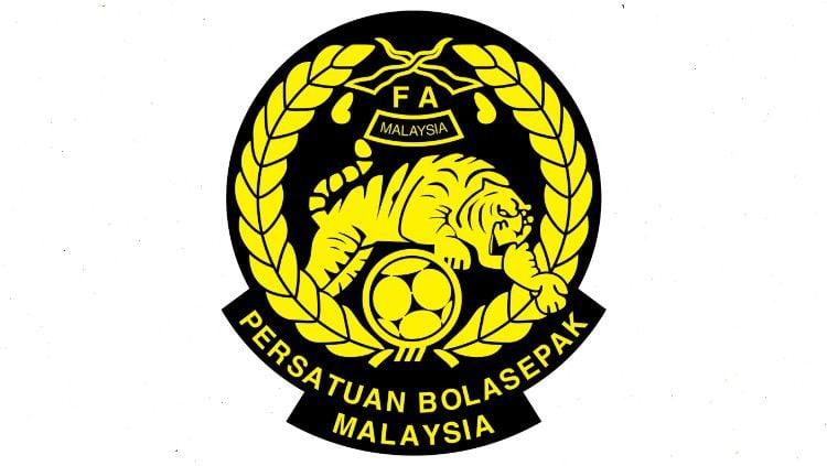 Logo Federasi Sepak Bola Malaysia (FAM). Copyright: © Wikipedia