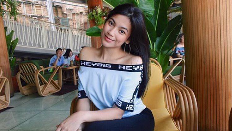Manajer Marketing klub Liga 2 Sulut United, Syalomita Gabriela Karen. Copyright: © Instagram/gasyakaren
